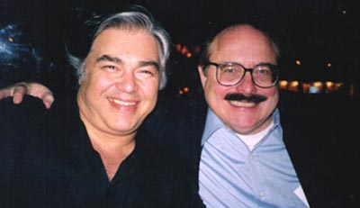 The late Aaron Russo & Nick Rockefeller